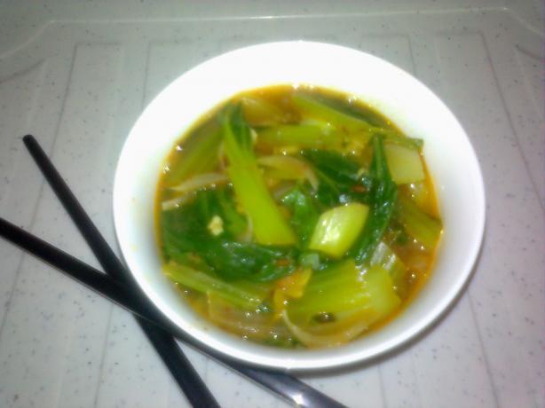 Cumin Bok Choy Stew