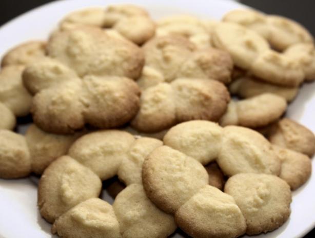 Vanilla Spritz Cookies