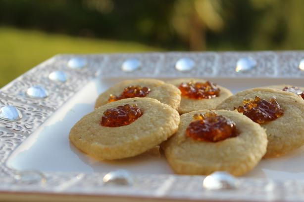 Fig and Gorgonzola Savouries (Thumbprints)