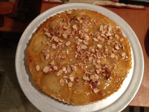 Bartlett Pear Tart