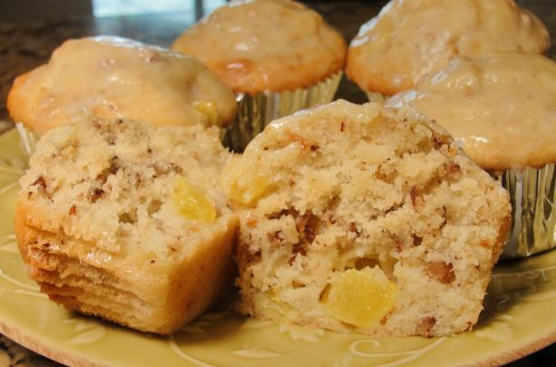 Pineapple Pecan Muffins