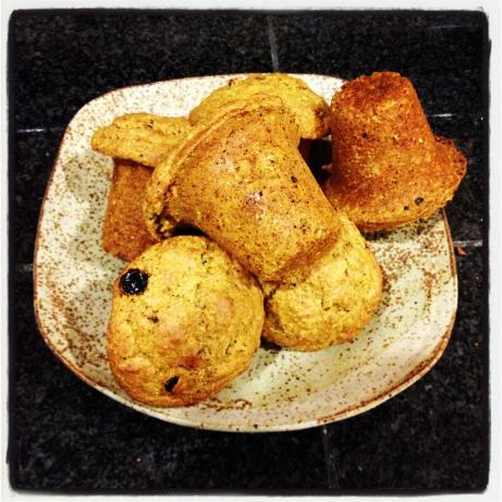 Pumpkin-Raisin-Red Chile Corn Muffins