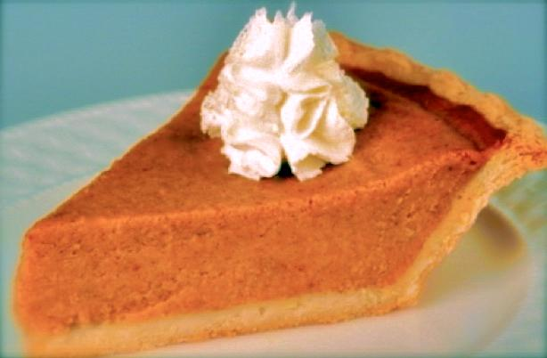 Holiday Pumpkin Pie