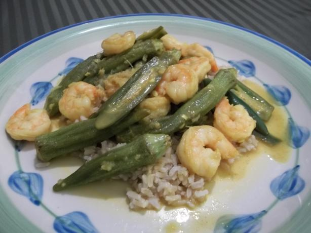 Spicy Shrimp & Okra