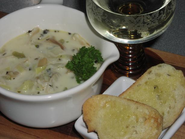 Pacific Razor Clam Chowder