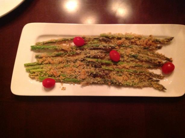 Panko-roasted Asparagus