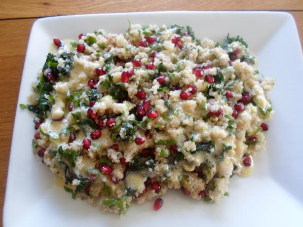 Quinoa, Kale & Pomegranate Salad