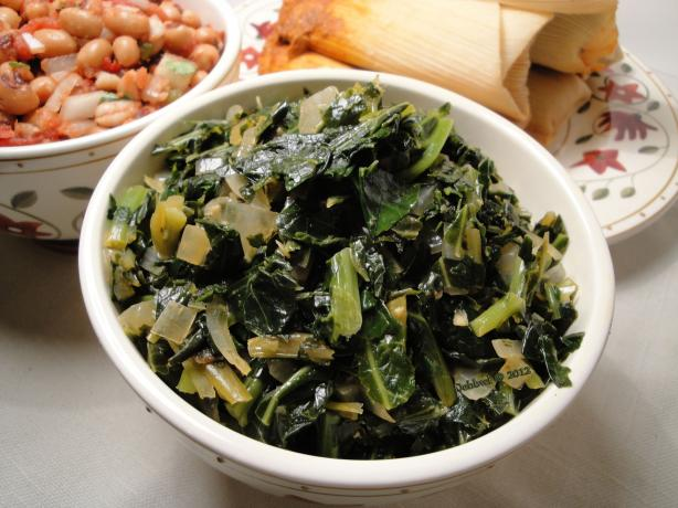 Tasty Frozen Collard Greens