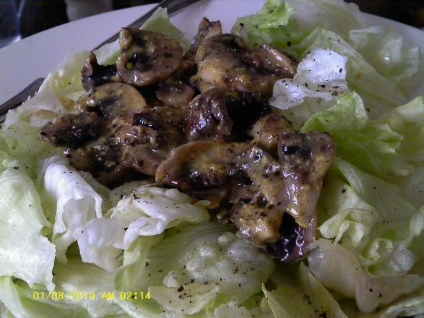 Arab Mushroom Salad