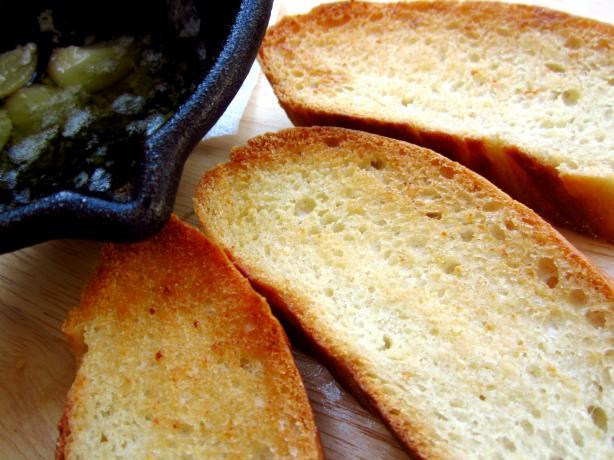 World-Class Garlic Bread