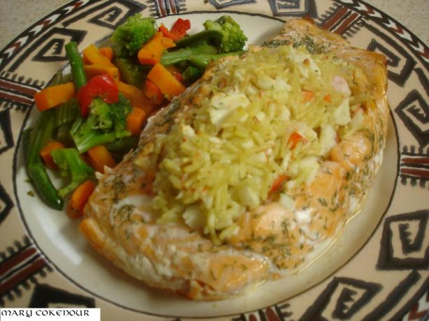 Stuffed Salmon Copycat Recipe