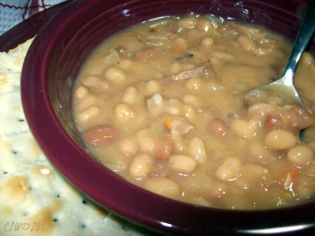 Quick Bean and Bacon Soup