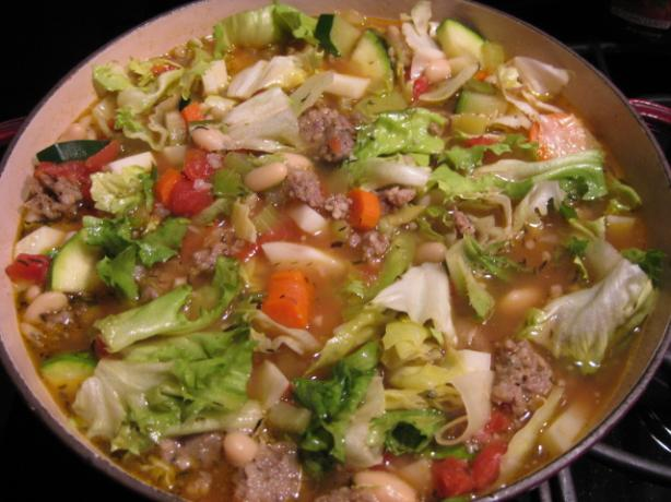 Sausage Ribollita Soup