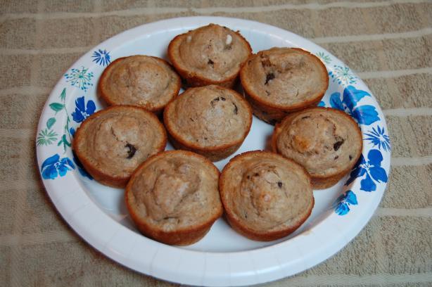 Banana Split Breakfast Muffins