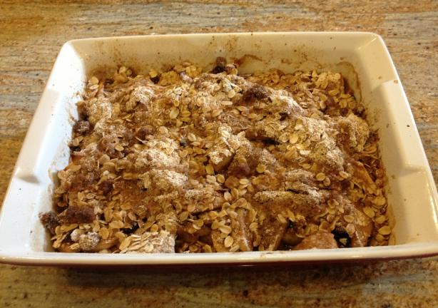 Maple Apple Oatmeal Crisp