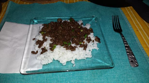 Korean Beef Using Ground Beef