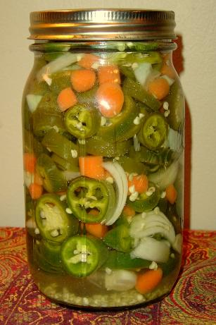 Small Batch Pickled Jalapenos