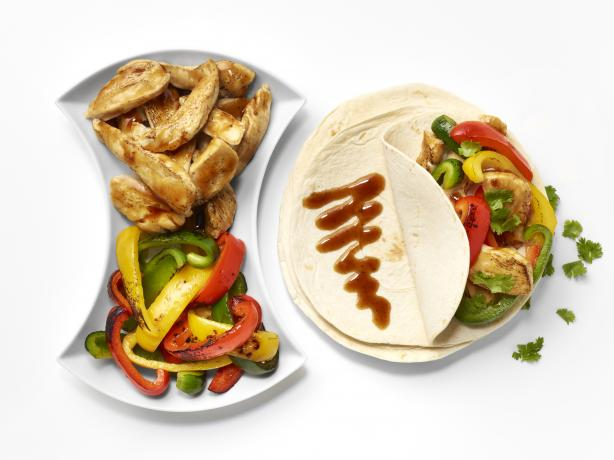 Teriyaki Chicken Fajitas