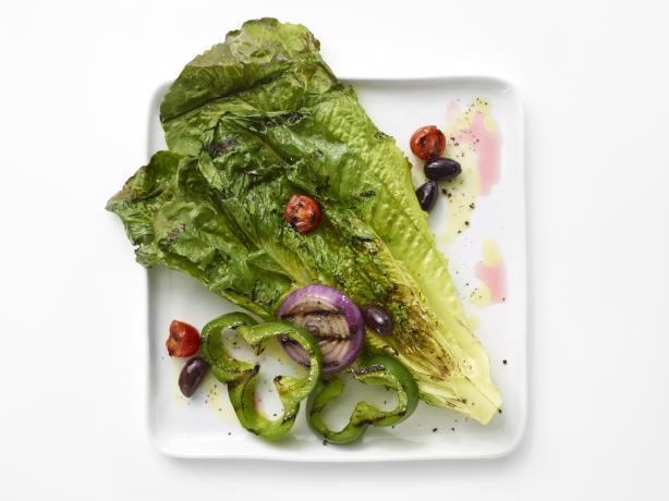 My Big Grilled Greek Salad