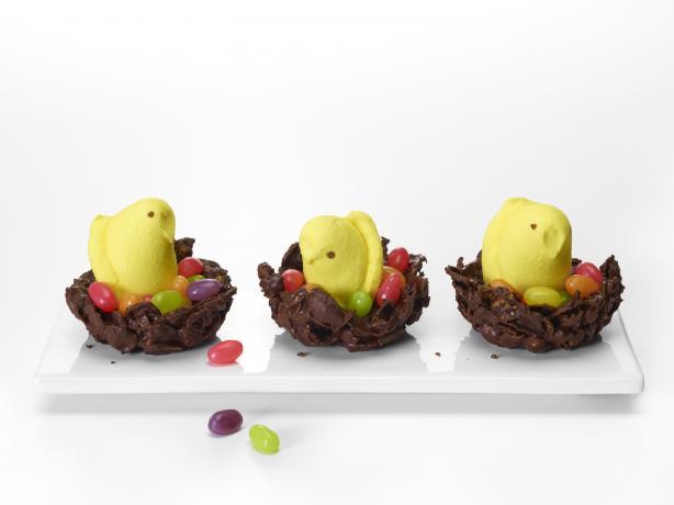 Crunchy Chocolate Nests