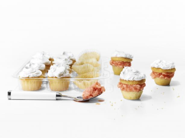 Sorbet-Stuffed Cupcakes