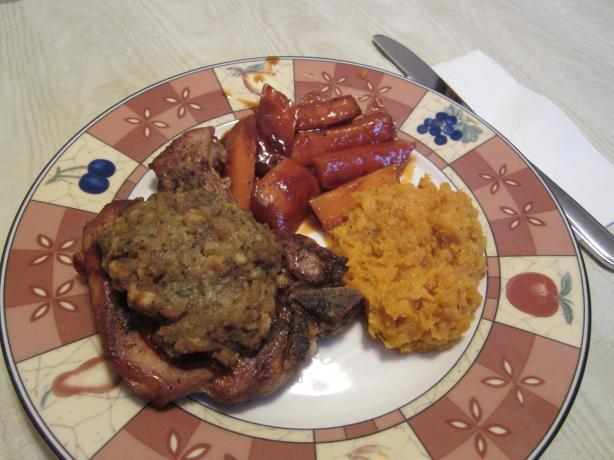 Crockpot Pork Chops Supreme