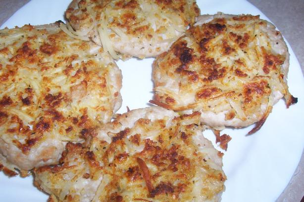 Potato Crusted Turkey Patties #5FIX