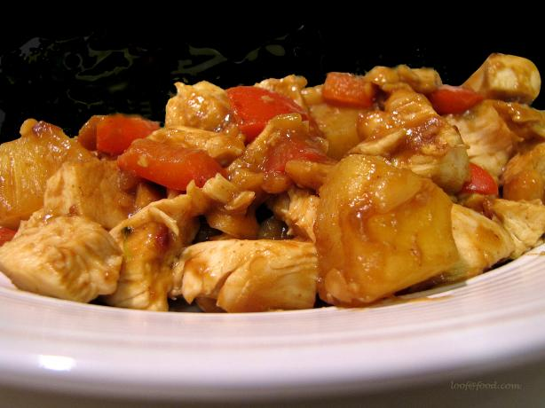 Pineapple Kung Po Chicken
