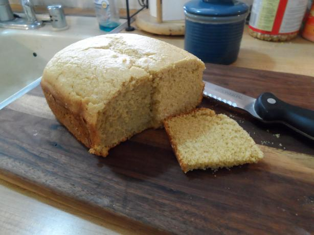 Sweet Cornbread (Bread Machine)