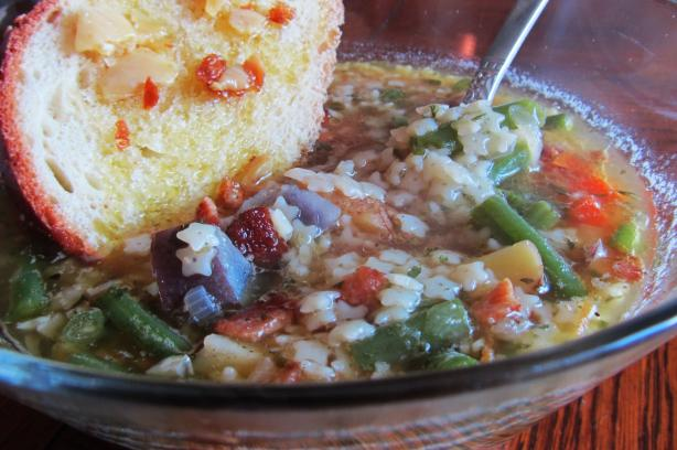 Bacon Soup With Veggies