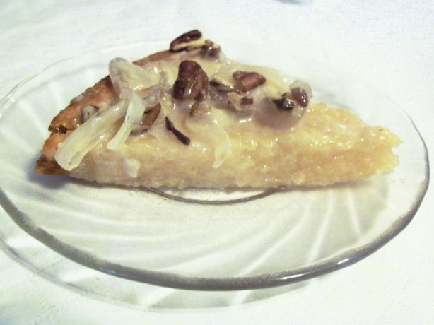 Cassava With Pecan and Coconut Jelly Toppings