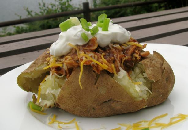 Barbecue-Stuffed Potatoes