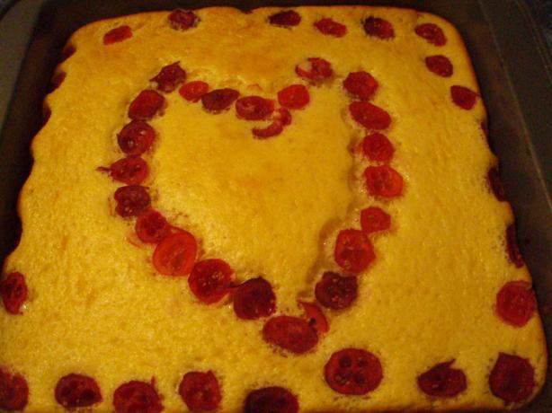 Cranberry Marshmallow Dessert Squares
