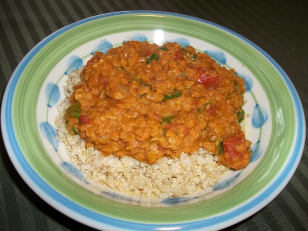 Lentil Stew With Quinoa