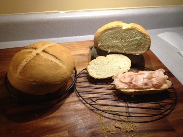 Crusty European Style White Bread