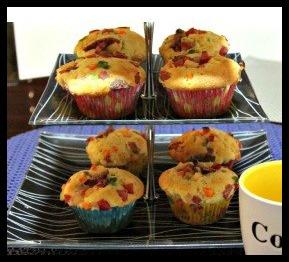 Meaty Delish Muffin