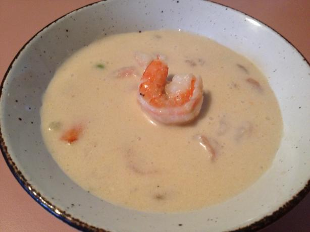 Coconut Shimp Bisque Soup #5FIX