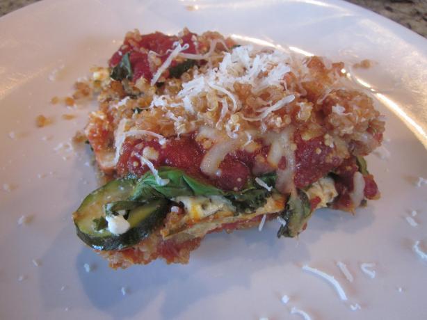 Quinoa & Kale Lasagna