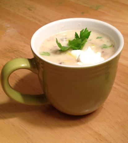 Chunky Baked Potato Soup #5FIX