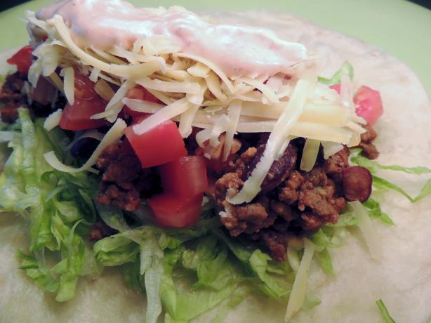 Pioneer Woman's Salad Tacos