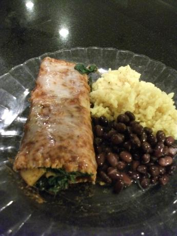 Spinach and Potato Enchiladas #5FIX