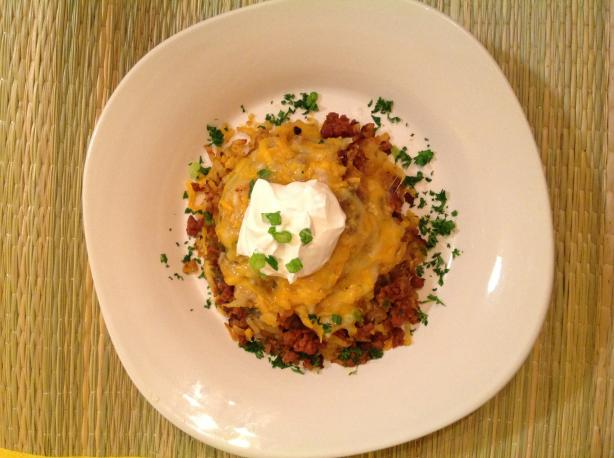 Chorizo Smothered Potatoes #5FIX