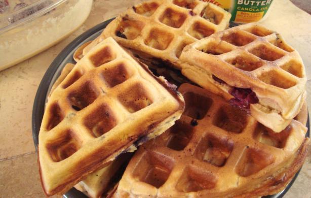 Antioxidant Berry Waffle