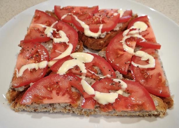 Open Sardine Sandwich