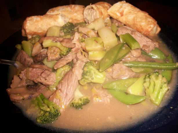 Chop Chop Beef Stir Fry