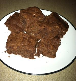 Pretty Clean Brownies