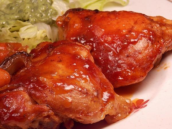 Oven-Baked Barbeque Chicken