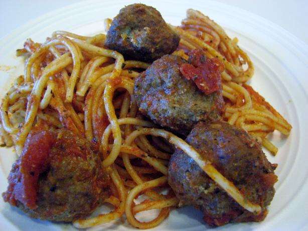 Spagetti and Meatballs With Ninja Cooking System