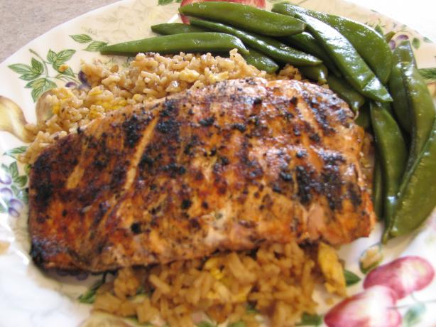 Sesame-Ginger Grilled Salmon