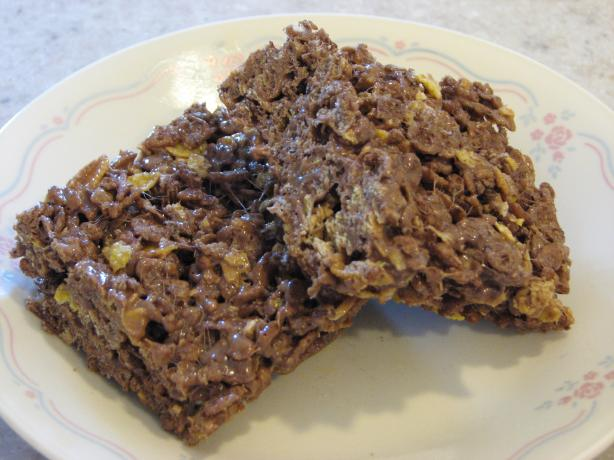 Chocolate Peanut Butter Cereal Treats